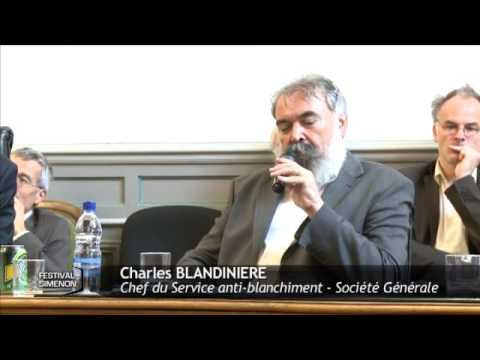 Charles Blandigneres, Chef du Service anti blanchiment de la Société Générale