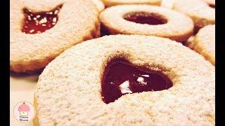 Galletas De Mantequilla Rellenas De Mermelada / Butter Cookies Filled With Jam