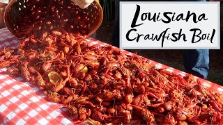 Authentic Louisiana Crawfish Boil - How to Boil Crawfish Louisiana Style! 2019