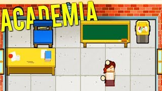 BUILDING AND MANAGING A PRESTIGIOUS HIGH SCHOOL! - Academia: School Simulator Gameplay