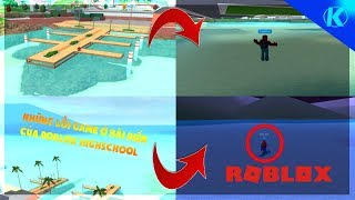 ROBLOX | 2 Buggy Game at the beach of Roblox Highschool | 🌟💺 Robloxian Highschool | Kick Gaming