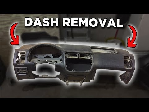 Removing The Dash | Interior Swap Pt.3 | Project EM2