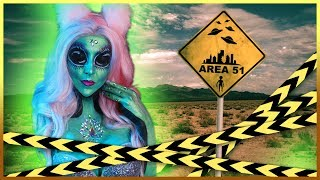 """CUTE ALIEN GIRL"" from AREA 51 