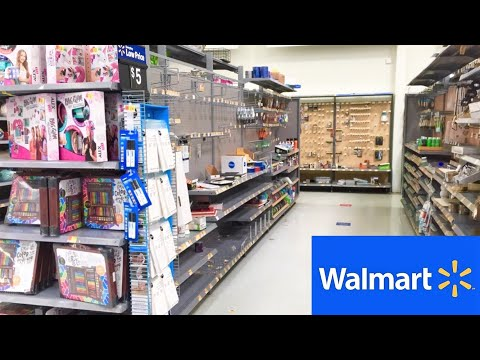 WALMART ARTS AND CRAFTS SECTION ART SUPPLIES CRAFT SHOPPING SHOP WITH ME STORE WALK THROUGH 4K