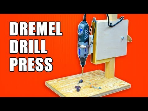 Make A Dremel Drill Press / Dremel Workstation