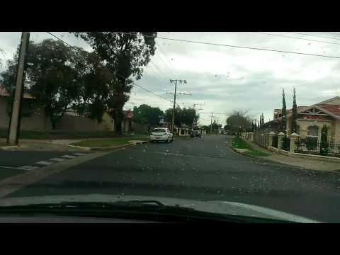 Google maps street view car in Adelaide, Australia (HD 1080p)