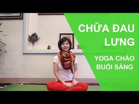 Yoga chữa bệnh - Chữa đau lưng, thoát vị đĩa đệm, phục hồi cột sống. (Yoga Healing - for the spine )