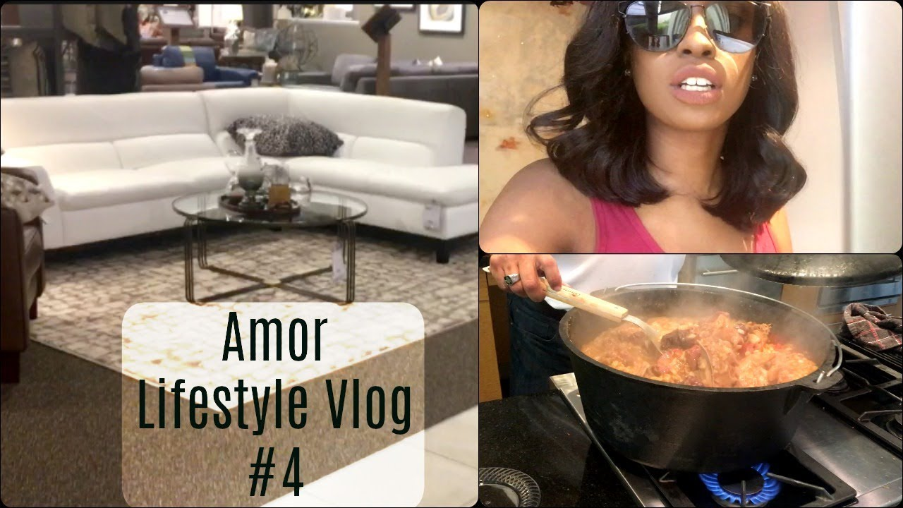 MOVING TO DALLAS VLOG #4 Moving In, Food Tasting Party, Furniture Shopping  | Amor Lifestyle Vlogs