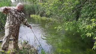Рыбалка на поисковый магнит Остановились покидать магнит скока металлолома в реке