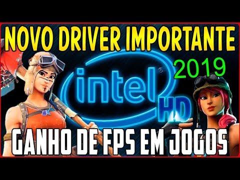 Como Atualizar Novo Driver da Intel HD Graphics Que Aumenta o FPS em Jogos - Fortnite, Overwatch ETC