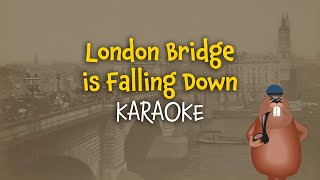 London Bridge is falling down (instrumental - lyrics video for karaoke)