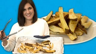 The Trick to Making Crispy Fries in the Oven | Food 101 | Well Done