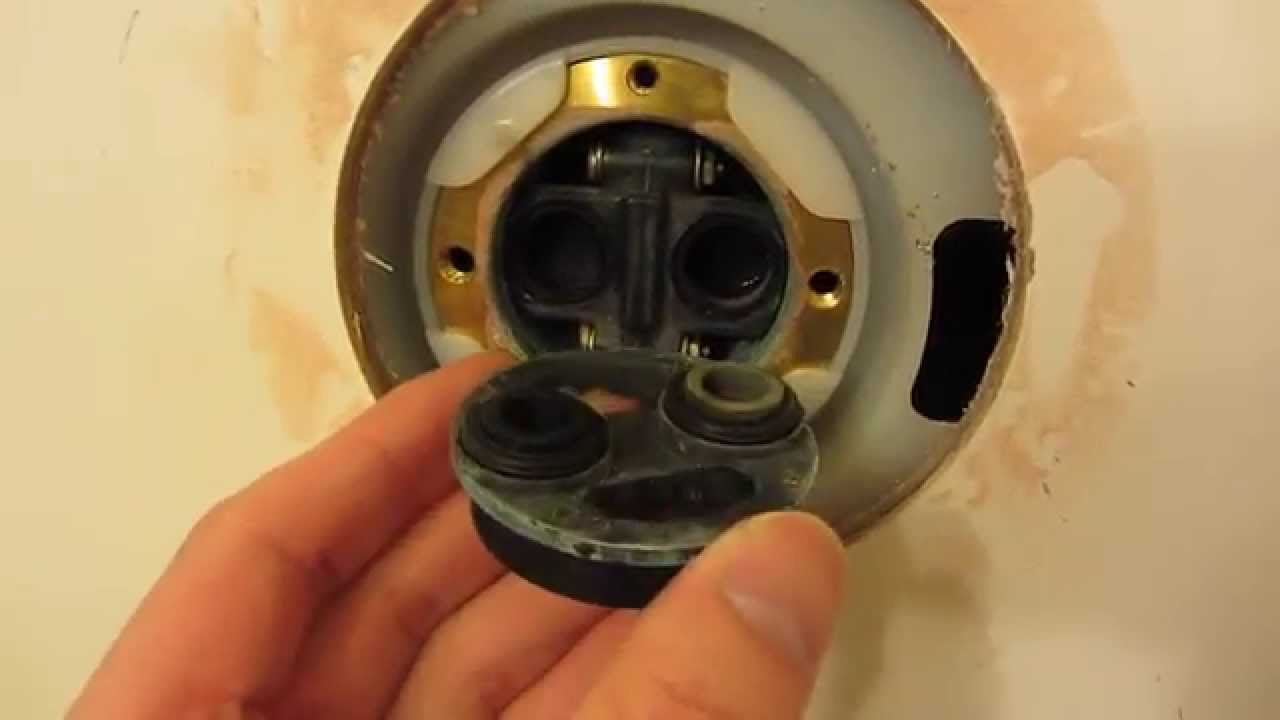 Leaky Bathroom Faucet Youtube kohler shower repair in hd part 1 - detailed view of fixture