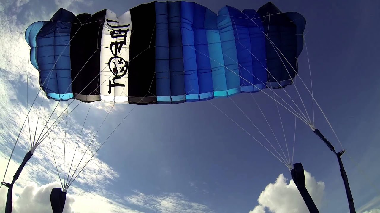 & My new Performance Designs Sabre 2 210 First Flight - YouTube
