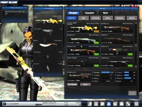 Poin Blank Garena ind - Senjata FULL Cash LengkapHott