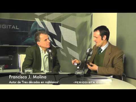 Francisco J Molina, autor de 'Tres décadas en rojiblanco'. 9-1-2014