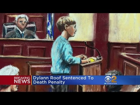 Dylann Roof Sentenced To Death For 2015 Church Shooting