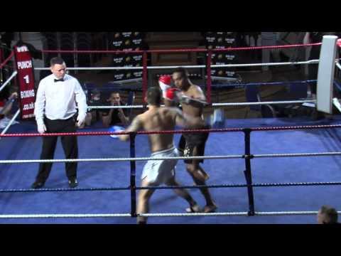Yusuf Ali Thaleb KO Bloodline vs Mark Owens Semtex Gym - KO Blood and Glory 6