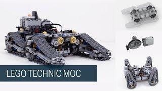 Lego Technic MOC - Tracked climber vehicle