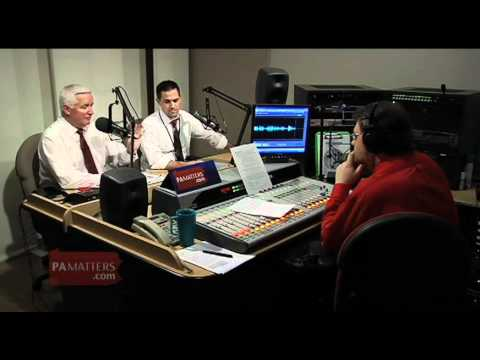 Governor Tom Corbett on vehicles powered by natural gas