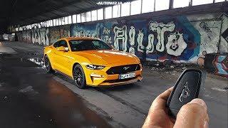 Ford Mustang GT 5.0 V8 450 TEST POV Drive & Walkaround