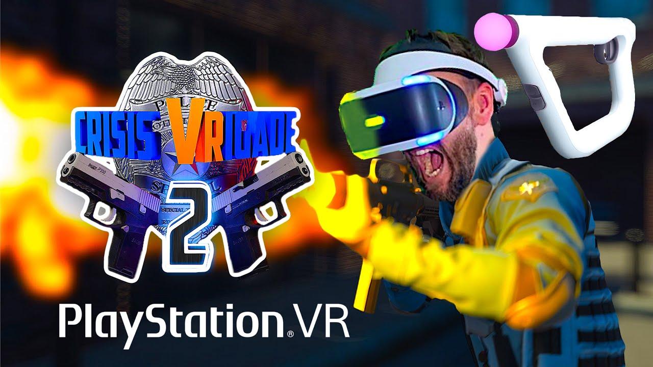 Crisis VRigade 2 Aim Controller Gameplay Playstation VR