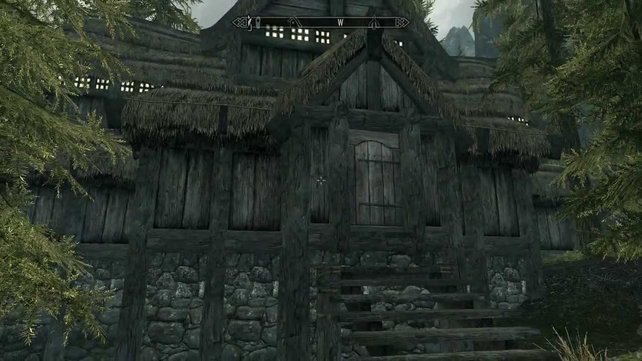 Скачать скайрим с модом на дом