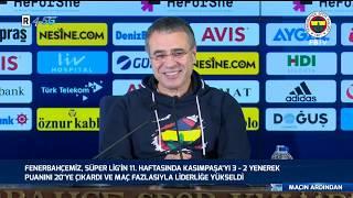 Maç Sonu Açıklamalar (Ersun Yanal, Altay Bayındır, Ozan Tufan, Nabil Dirar)