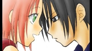 Саске и Сакура - Темно-алая кровь