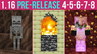 Minecraft 1.16 Pre-Release 4, 5, 6, 7, 8 (The Nether Update Is Getting Close!)