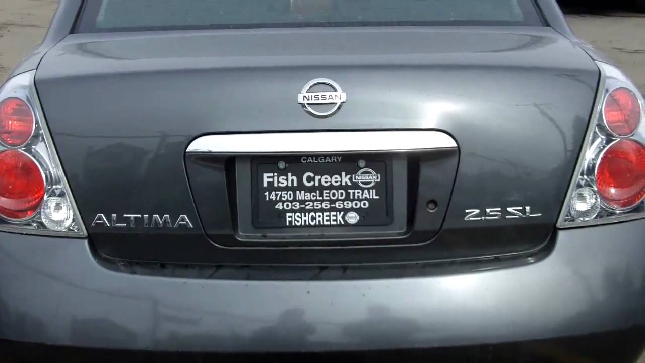 2005 Nissan Altima 2.5SL Grey   FISH CREEK NISSAN   YouTube
