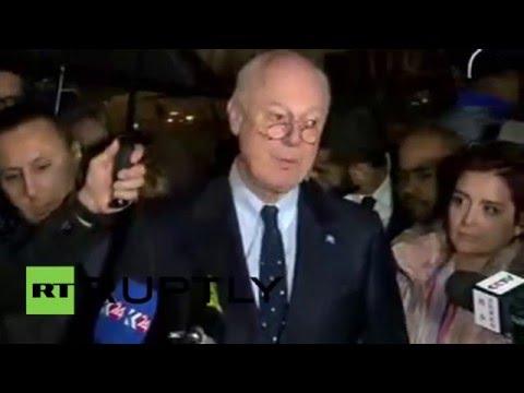 Switzerland: Syria peace talks suspended until Feb 25 - UN's de Mistura