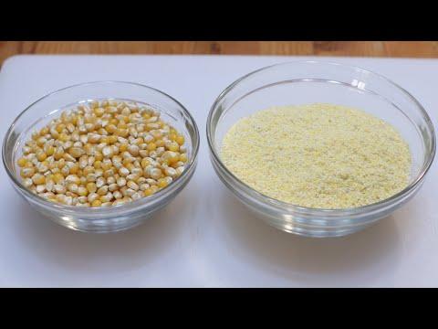 How To Make Cornmeal   Easy Homemade Cornmeal Recipe