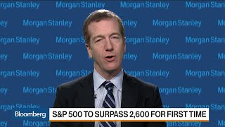 Morgan Stanley's Wilson Sees S&P 500 Bull Run Into 2018