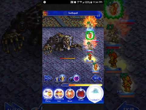 FFRK [Torment Dungeon] Instrument of Destruction, Part 1 (D200) | Barthandelus (FF13)