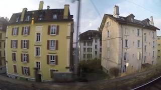 LAUSANNE - PARIS Train Ride - TGV Lyria