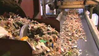 Kunststoffrecycling mit dem Grünen Punkt
