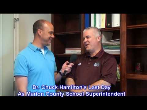 Chuck Hamilton's Last Day As Marion County School Superintendent