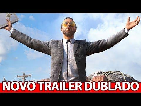 Far Cry 5 novo TRAILER DUBLADO e formas DIFERENTES de JOGAR