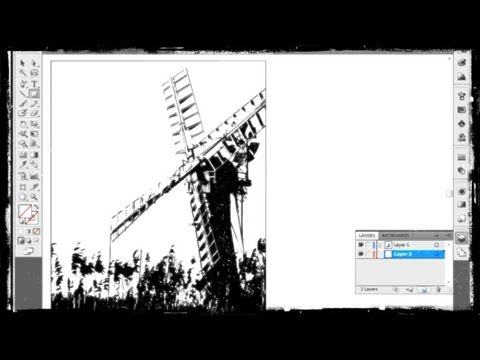 How to Convert Image into Vector Graphics with Adobe Illustrator CS6 | FunnyDog.TV