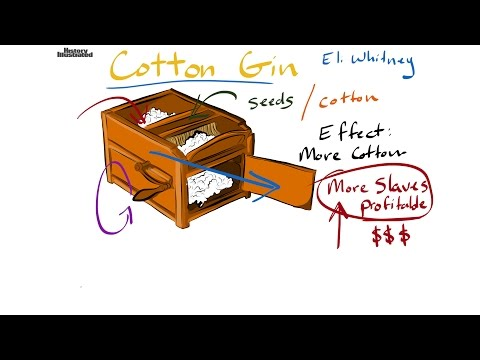 Cotton Gin Definition For Kids