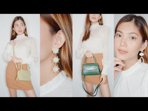 PHP 16,000 ONLINE SHOP HAUL (Trendy Bags, Earrings, Nihao Jewelry & Clothes)