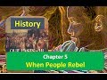 Chapter 5 When People Rebel CLASS 8 History NCERT