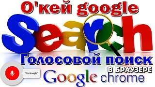 Поговори со мною Гугл ! О'кей Google ?