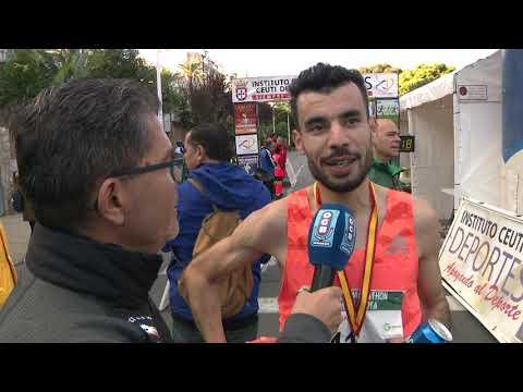 Bilal Marhoum vuelve a imponer su ley en la Media Maratón 'Ciudad de Ceuta'