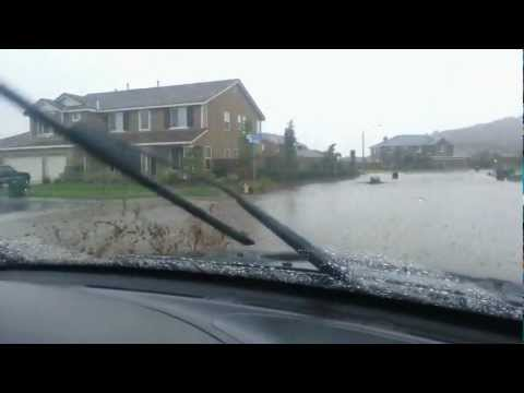 Flash Flood in Moreno Valley, CA August 30th 2012