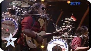 """One Man Band Sings """"Bongkar"""" from Iwan Fals - Yon Gondrong - SEMIFINAL 5 - Indonesia"""