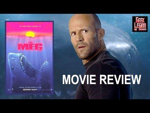 THE MEG ( 2018 Jason Statham ) Megalodon Shark Action Movie Review