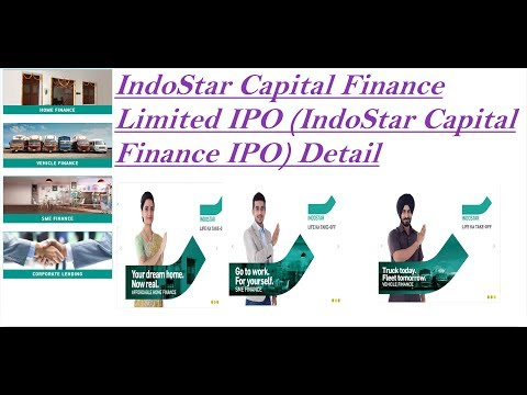 New IPO || IndoStar Capital Finance Limited IPO || Strong Financials
