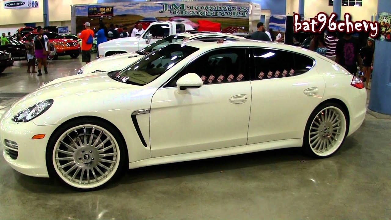 pearl white porsche panamera s on 24 forgiatos wheels 1080p hd youtube - Porsche Panamera Black And White